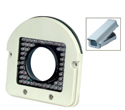 IR Illuminator Dual Glass 90ft. 60 IR  led for Outdoor/ Indoor Housing