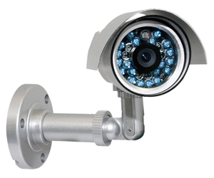 Weatherproof Color IR Camera 24 LED's