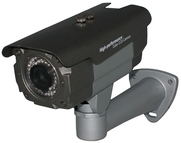 X-Treme Military Grade Night Bullet  Camera 2.8 ~ 12mm DC Auto Iris  Varifocal Lens - 98 Foot IR Range