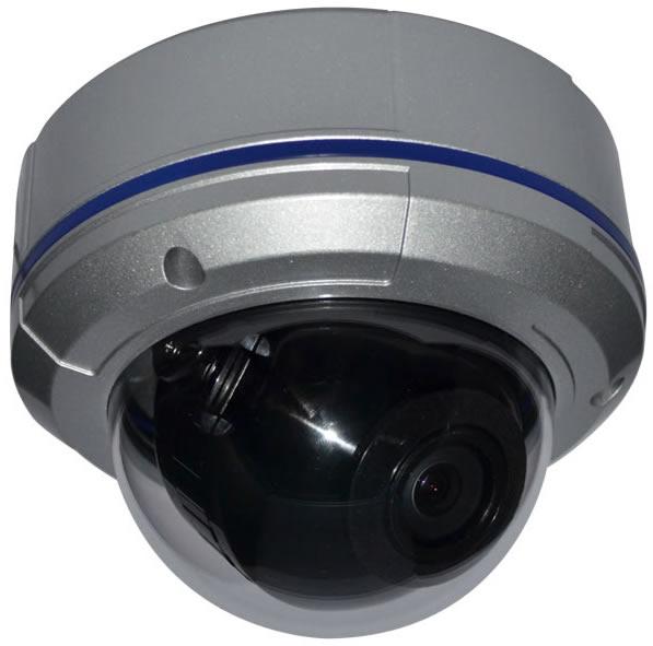 X-Treme Military Grade Vandal Dome  Camera 2.8~12mm DC Auto Iris Varifocal  Lens - 65 Foot IR Range