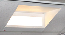 Recessed Hi-Lite Videoconference Lighting